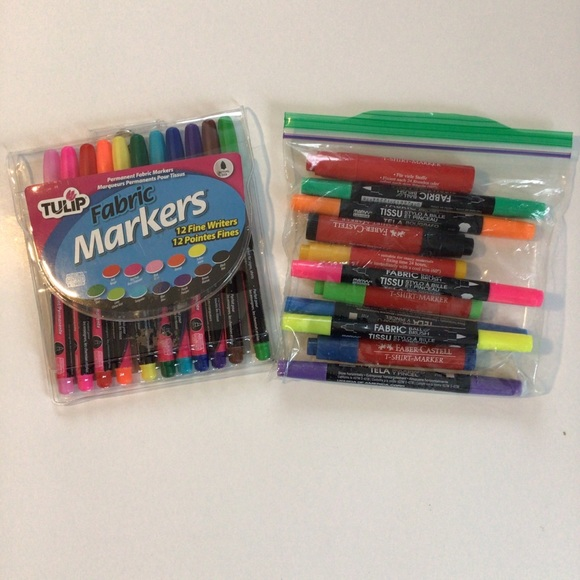 TULIP fabric markers + more!